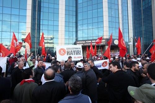 SENDİKAL PLATFORM EYLEM 28.12.2012