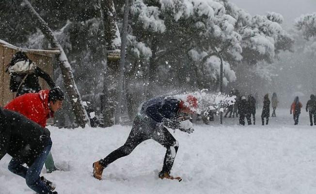 İzmir böyle karı ilk defa görüyor...