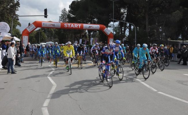 2. Uluslararası Kuzey Kıbrıs Bisiklet Turu başladı