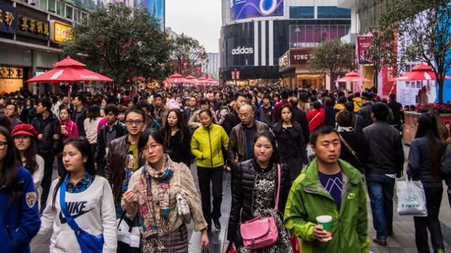 Çin'de nüfus 2020'ye kadar 1,42 milyara ulaşacak