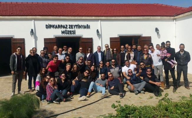 Dipkarpaz'da gençlik kampı düzenlendi