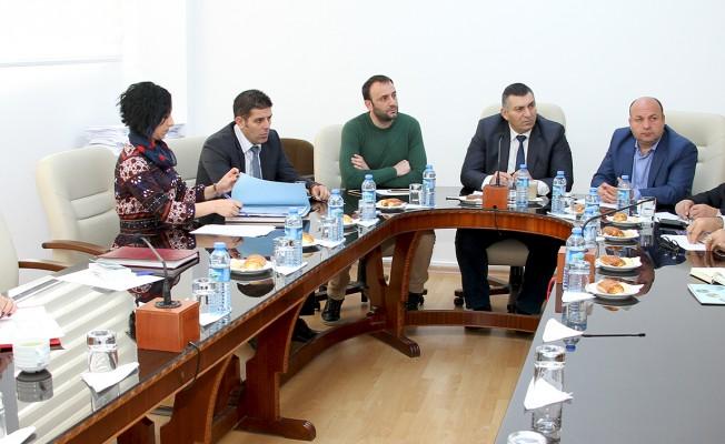 Meclis Çevre Komitesi toplandı