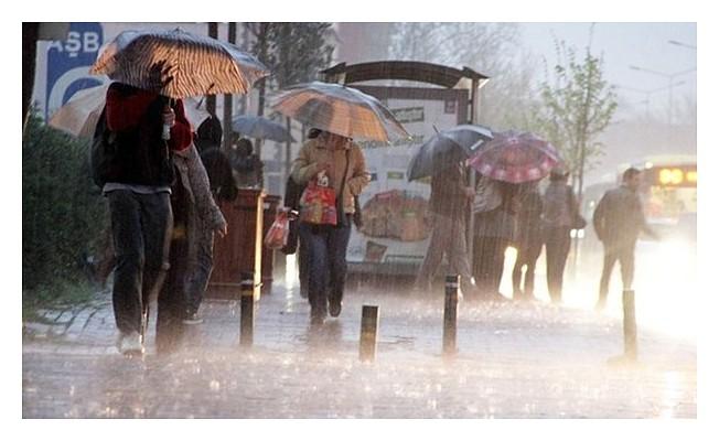 En çok yağış 9 kilogram ile Akdeniz'de
