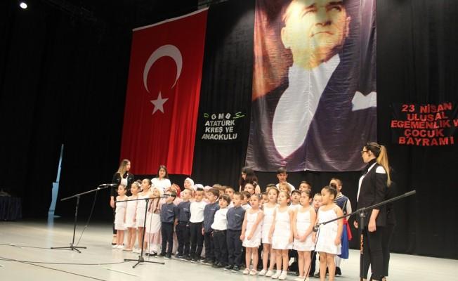 Atatürk Kreş ve Anaokulu'ndan 23 Nisan gösterisi