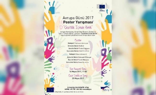 Avrupa Günü 2017 için poster yarışması düzenleniyor