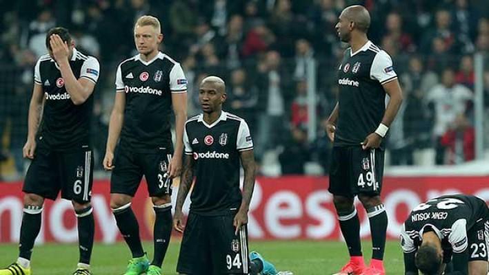 Beşiktaş çeyrek finalde veda etti...