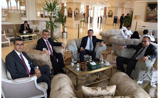 Ertuğruloğlu, Suudi Arabistan'da...