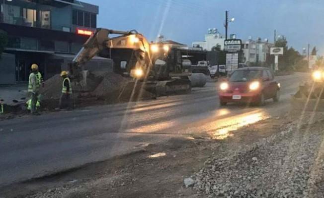 Girne-Çatalköy yolunu kullanan sürücülerin dikkatine!