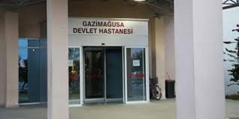 Mağusa Hastanesi güvenlik önlemlerini artırdı...