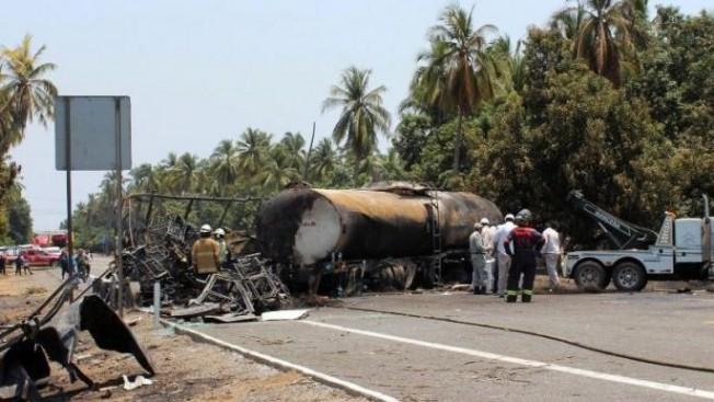 Meksika'da otobüs kazası