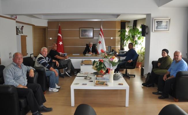 Muhtarlar Birliği'nden Özçınar'a ziyaret