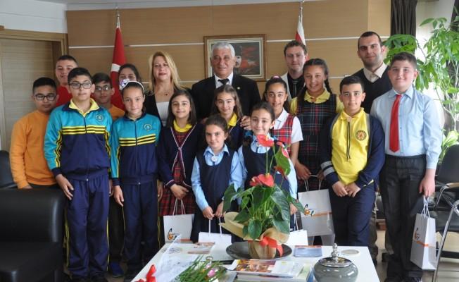 Öğrenciler Özçınar'ı ziyaret etti