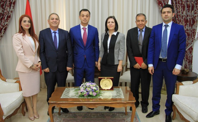 Siber, Diyalog ve İşbirliği Gençlik Forumu Başkanı'nı kabul etti.