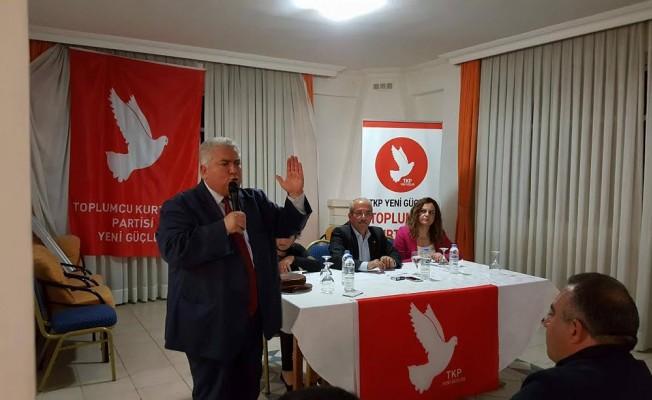 TKP-YG Güzelyurt İlçe başkanı Ümral Volkan oldu