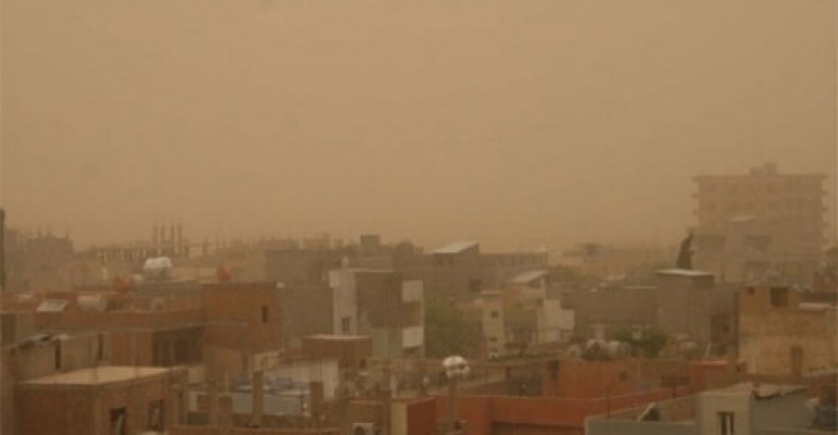 Toz bulutu uyarısı