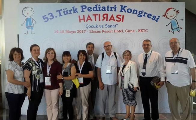 53. Türk Pediatri Kongresi Girne'de yapıldı.
