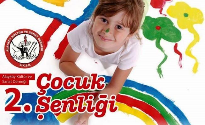Alayköy'de Çocuk Şenliği düzenleniyor