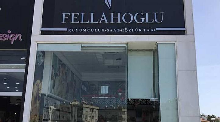 Fellahoğlu Kuyumculuk soyuldu...