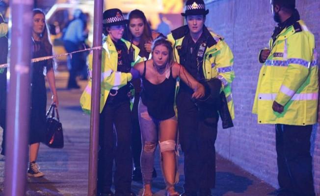 Manchester'de terör saldırısı...