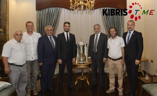 Akıncı Türk Ocağı Limasol heyetini kabul etti