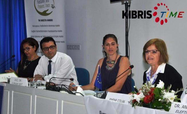 """Avrupa'da ve Kıbrıs'ta Hasta Hakları"""" konferansı düzenlendi"""