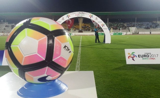 Conifa 2. Avrupa Şampiyonası başladı