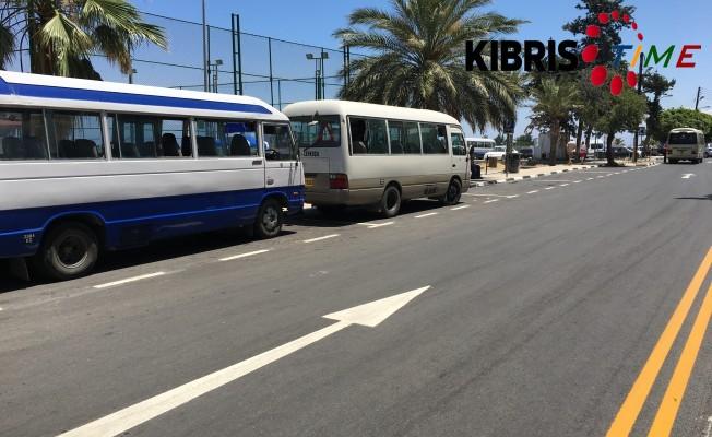 Girne'de 5 sokak asfaltlandı