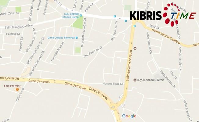Girne Ecevit Caddesi'nin bir bölümü trafiğe kapatılacak