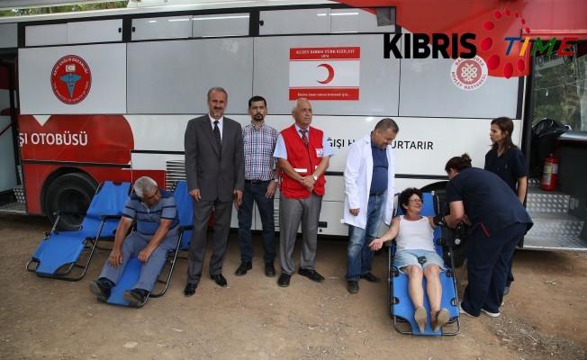 Girne Kapısı'nda Kan Bağışı Kampanyası düzenlendi