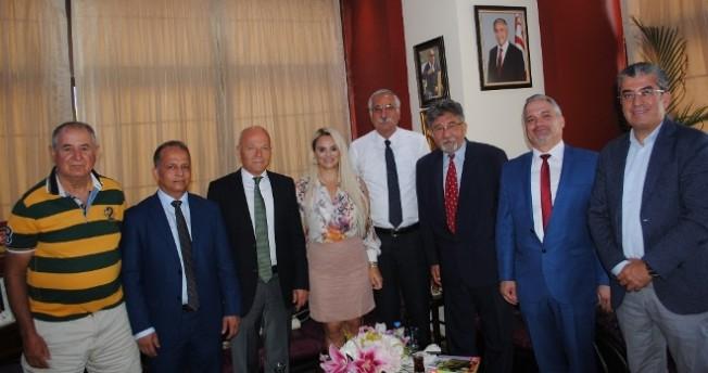Güngördü, Türkiye Ziraat Mühendisleri Odası'nı kabul etti