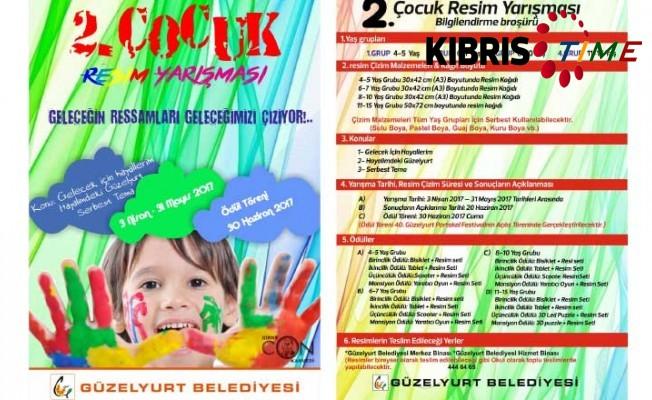 II. Çocuk Resim Yarışması'nın ödül töreni 30 Haziran'da