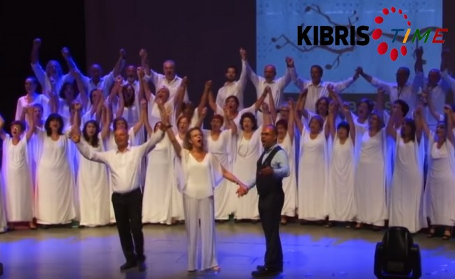 """""""Kıbrıs'ta Barış İçin İki Toplumlu Koro"""" 20. yılını kutluyor"""