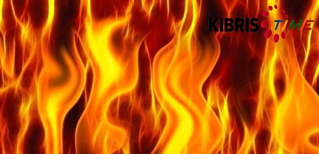 Kısa devreden yangın çıktı