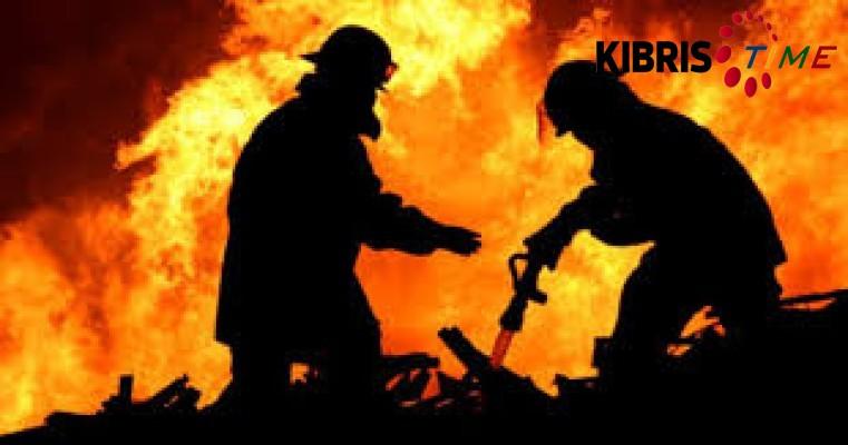 Lefkoşa ve Mağusa'da yangın...