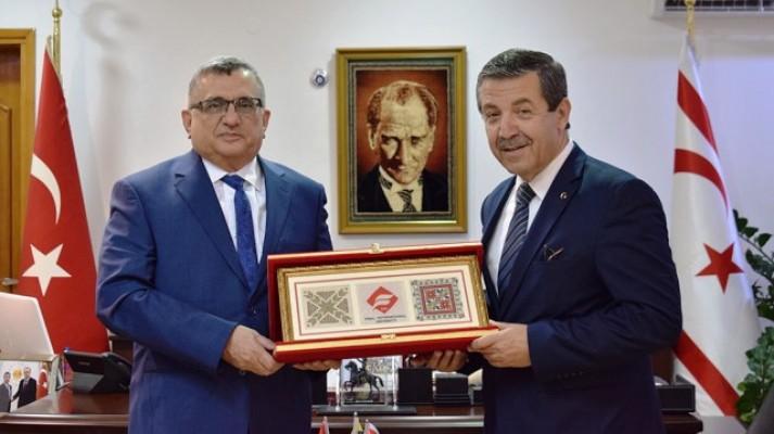 Öztorpak, Ertuğruloğlu'nu ziyaret etti