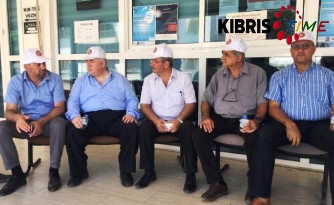 TKP Yeni Güçler'den El-Sen grevine destek verdi.
