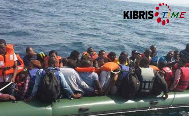 40 Göçmen Akdeniz'de kayboldu...