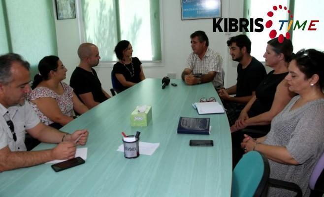Baraka Kültür Merkezi KTÖS'ü ziyaret etti