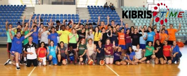 """""""Barış için Basketbol"""" etkinliği yapıldı"""