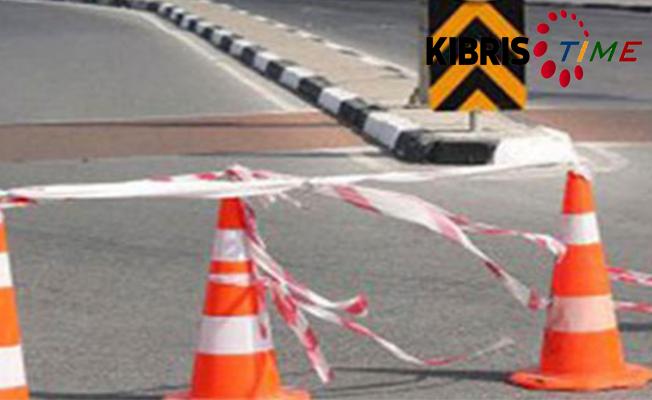 Bostancı- Akçay anayolu trafiğe kapatılacak
