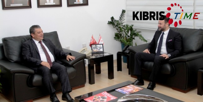 Dürüst, Türkiye Genç İş Adamları Derneği'ni kabul etti