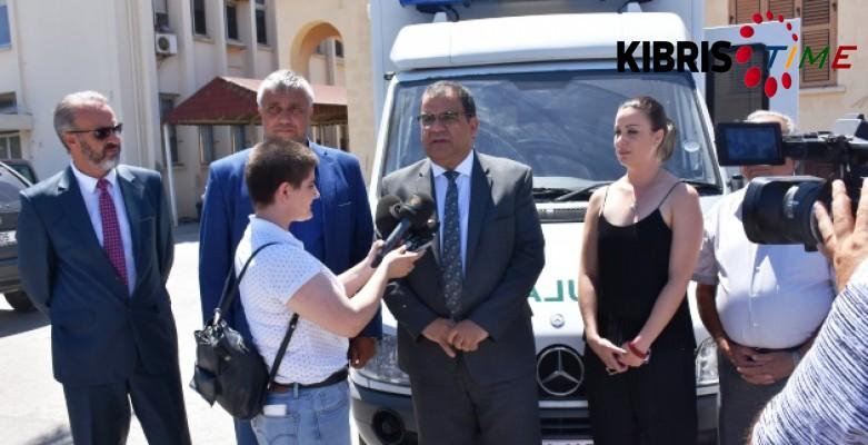 Esentepe Sağlık Merkezi'ne ambulans bağışı