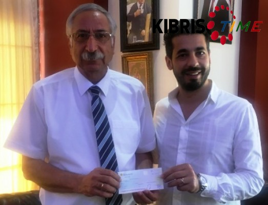 Girne Belediyesi'nden Limasol Spor Kulübü'ne 40 bin TL bağış