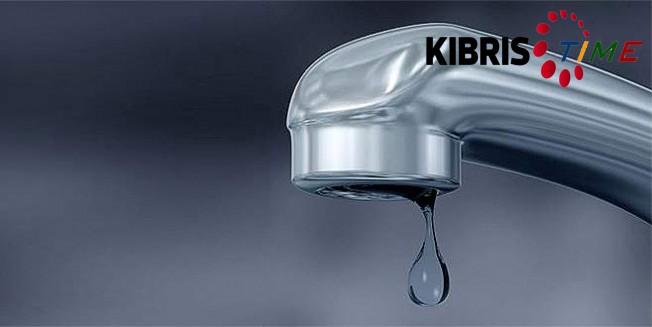 Girne'ye düzenli su verilemeyecek