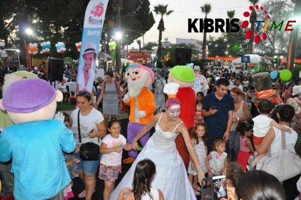 Güzelyurt Portakal Festivali'nde Çocuk Şenliği düzenlendi