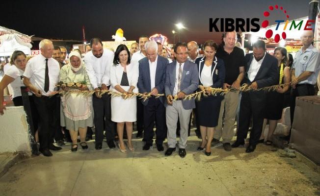"""""""Hasat Festivali"""" düzenlenen törenle açıldı."""