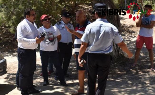 Karpaz'daki kaçak yapılar mühürleniyor...