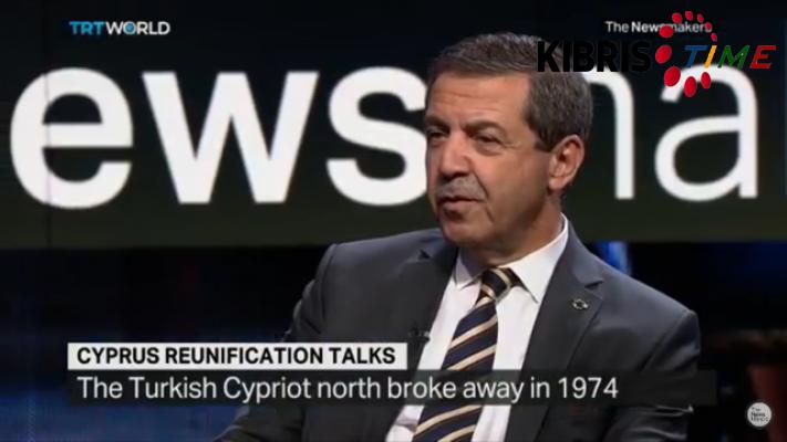 """""""Kıbrıs'ta iki devlet olduğunu dünya biliyor..."""""""