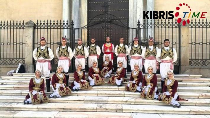 KKTC Halk Dansları ekibi İspanya'da temsil edildi