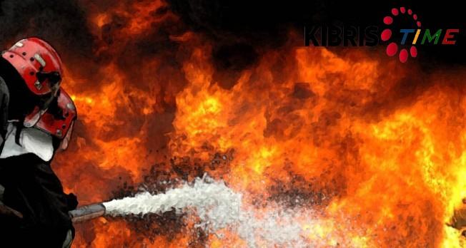 Lefkoşa ve Yenierenköy'de yangın